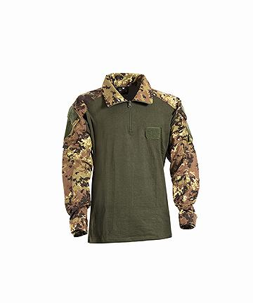 OPENLAND COTTON COMBAT SHIRT