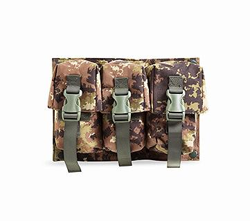 OPENLAND TRIPLE MAGAZINE POUCH 5.56 FOR OPT-11010