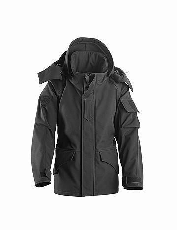 OPENLAND PARKA JACKET IN SOFTSHELL