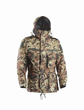 OPENLAND SAS SMOKE JACKET WITH INTERNAL FLEECE